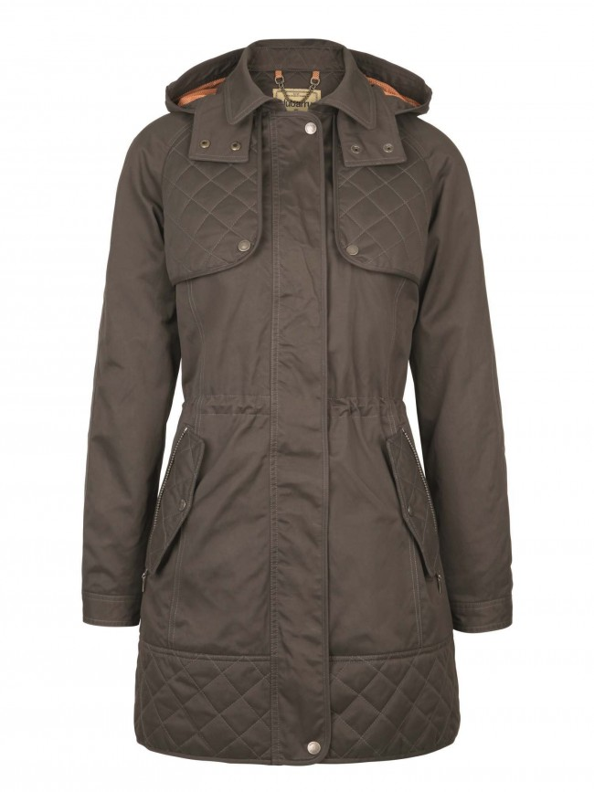 Dubarry Barrington Waterproof Jacket Verdigris