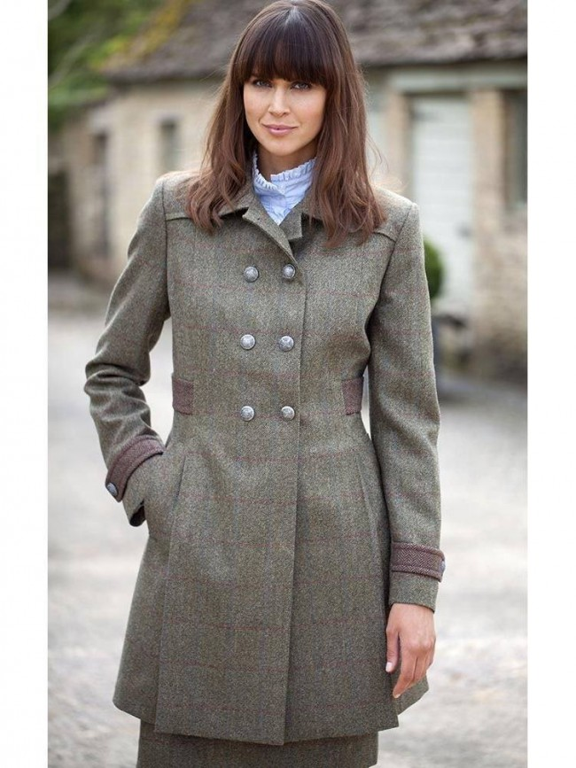Dubarry Hawthorn Tweed Jacket Moss