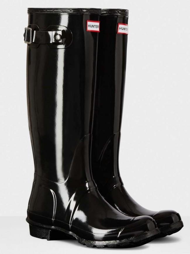 Hunter Women s Original Tall Gloss Black. Zoom 94d28d251d