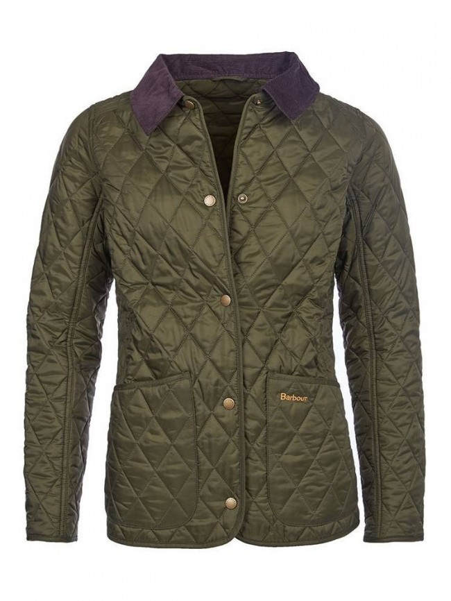 Barbour Annandale Quilted Jacket In Olive