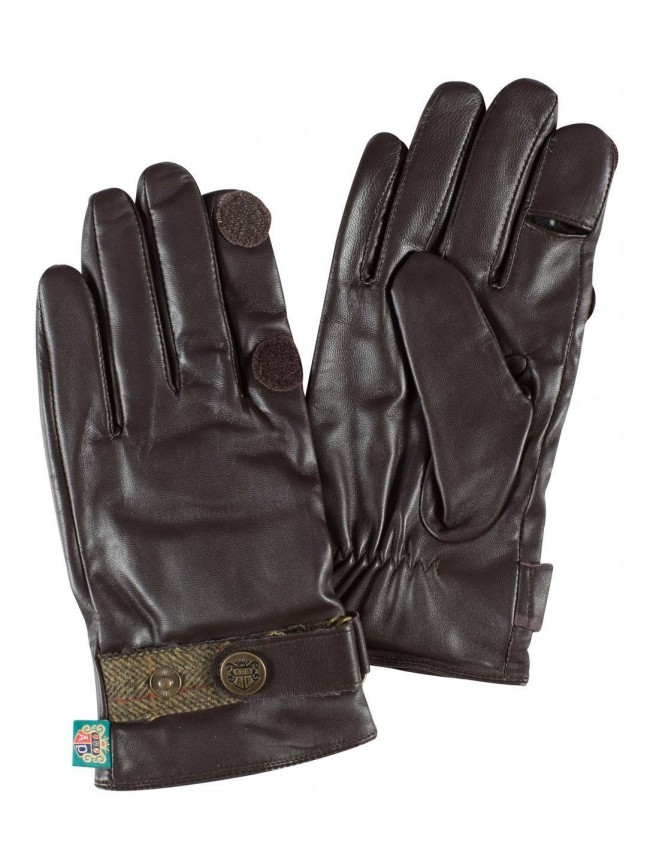 SALE Alan Paine Mens Water Resistant Leather Shooting Gloves