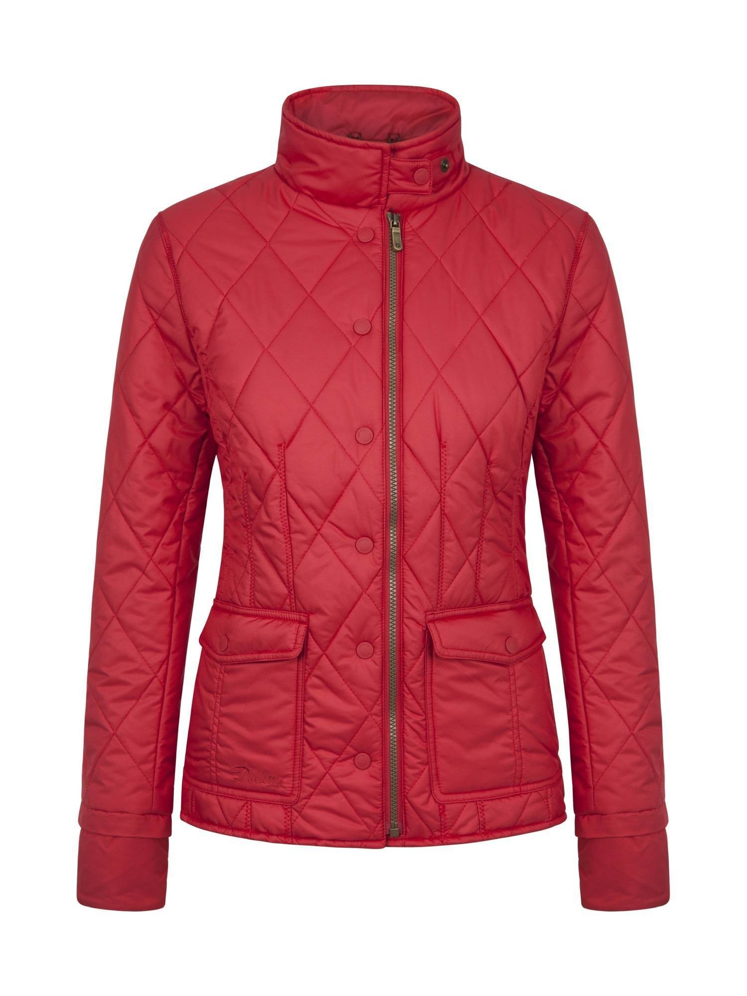 Dubarry Carra Lightweight Quilted Ladies Jacket Red