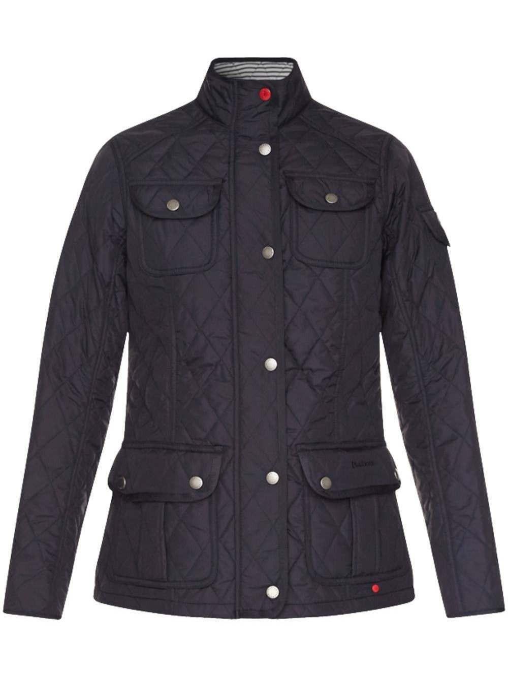 Barbour Buryhead Quilted Ladies Jacket Navy