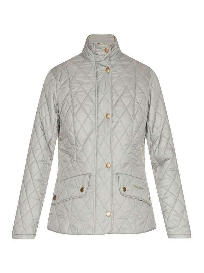 Barbour Flyweight Cavalry Quilted Ladies Jacket Pale Sage