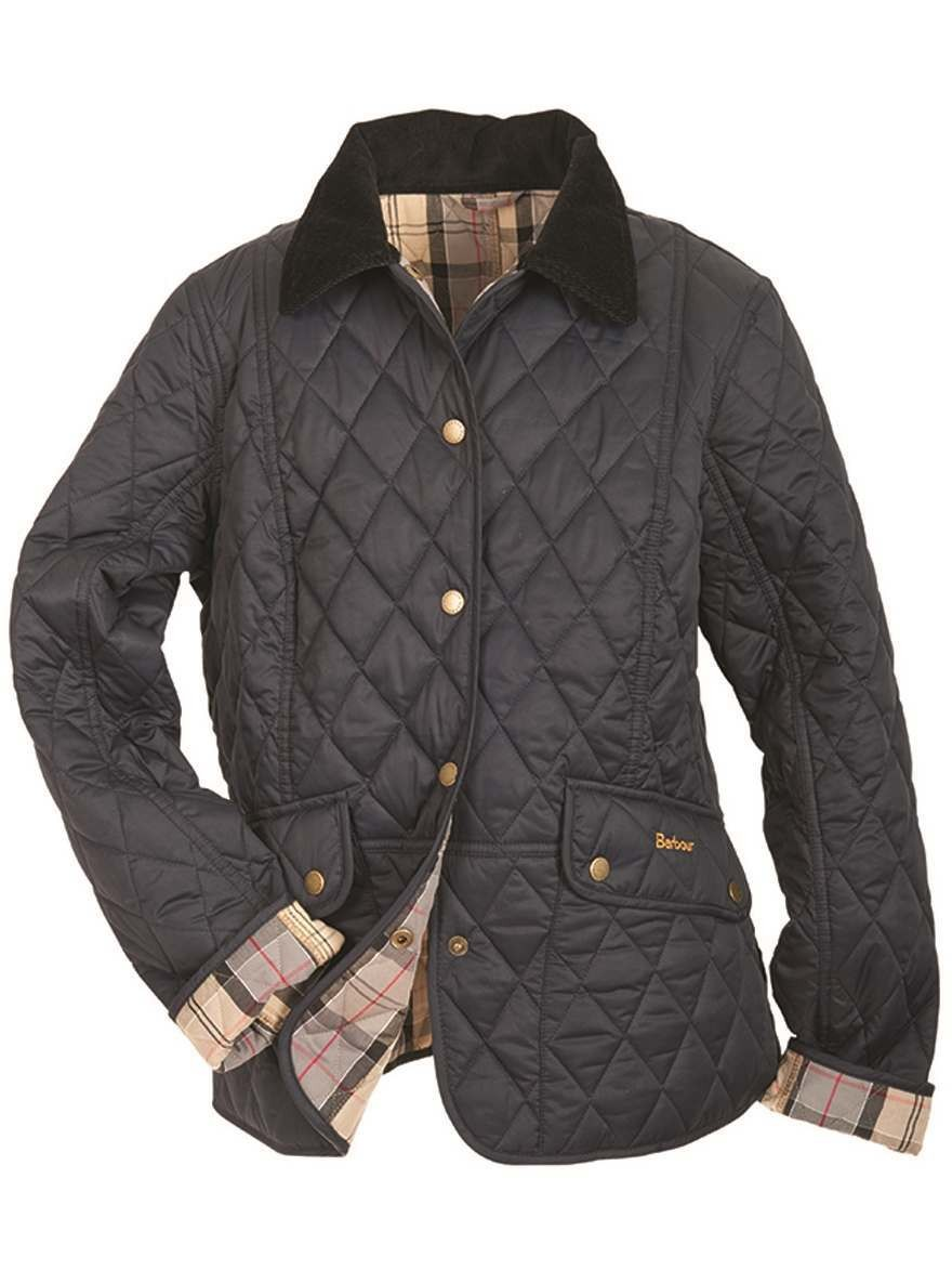 Barbour Kendal Quilted Ladies Jacket Navy