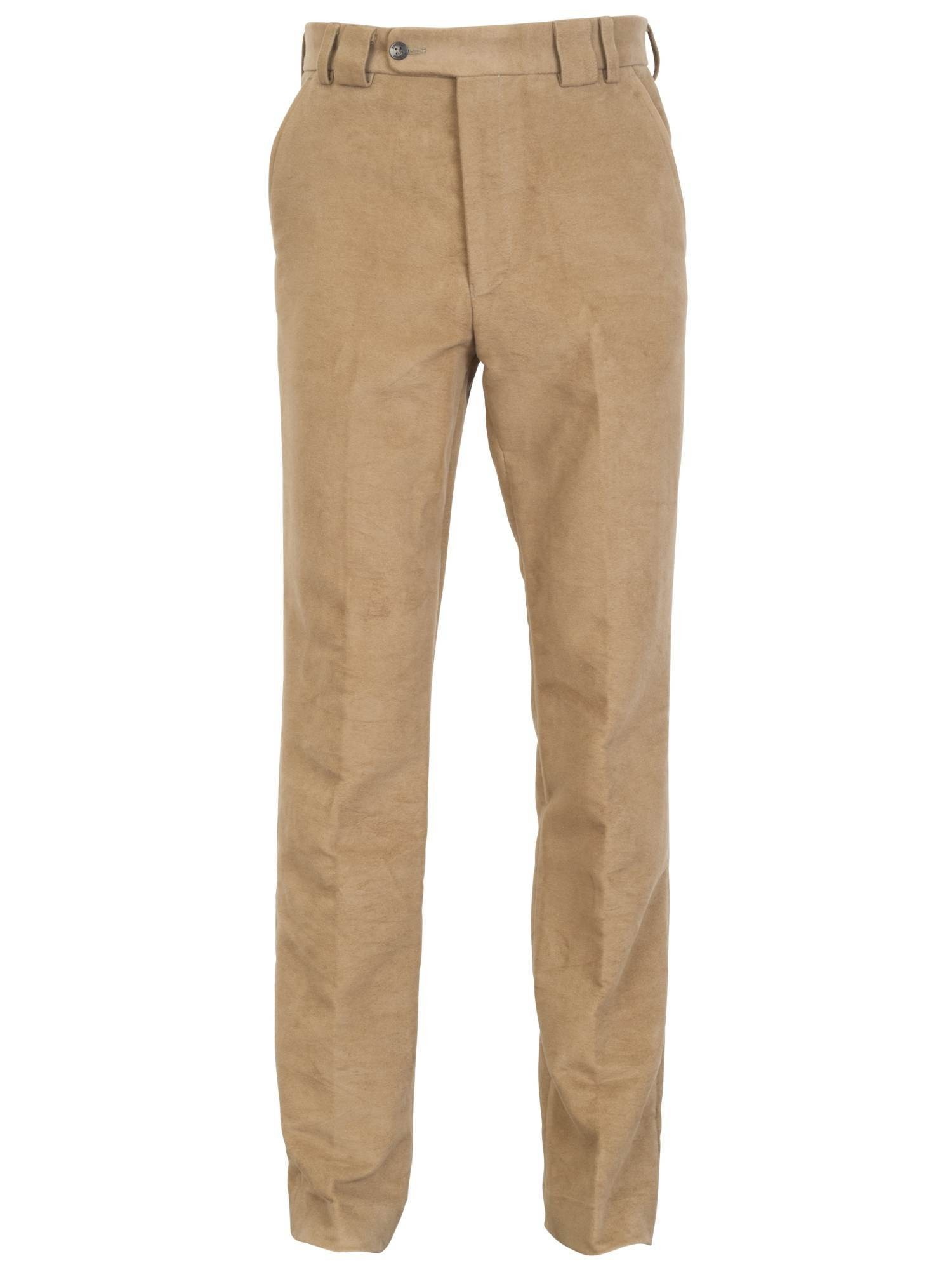 Barbour Traditional Fit Moleskin Mens Trousers Lovat