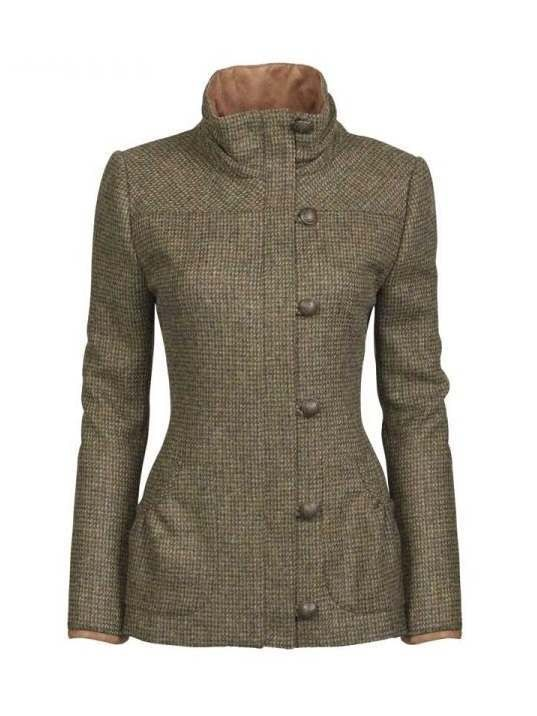 Dubarry Bracken Ladies Tweed Jacket Heath