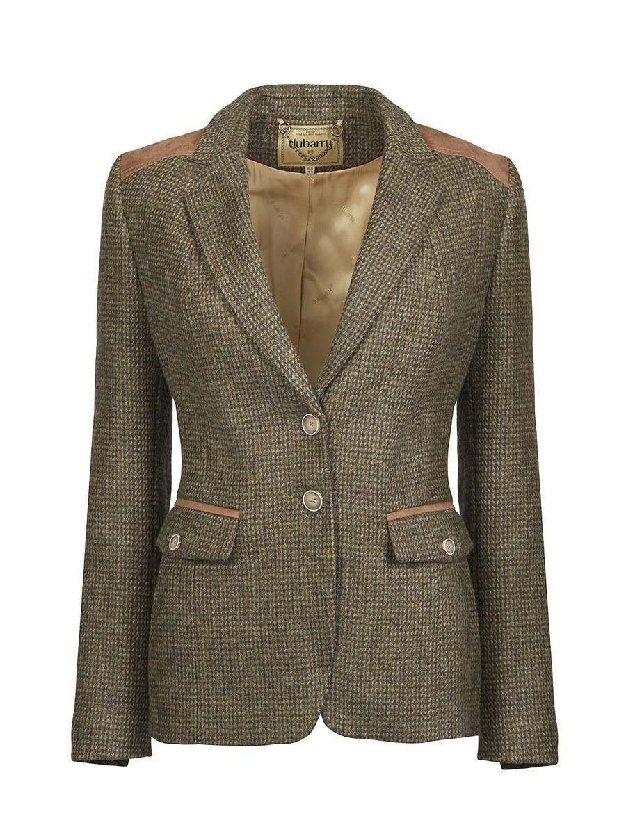 Dubarry Pearlwort Tweed Blazer Heath