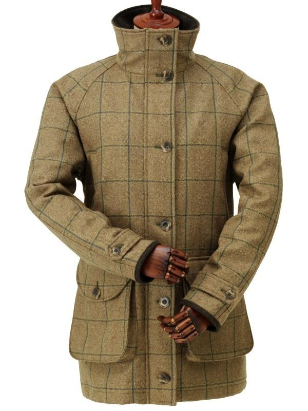 Laksen Eden Ladies Tweed Shooting Coat