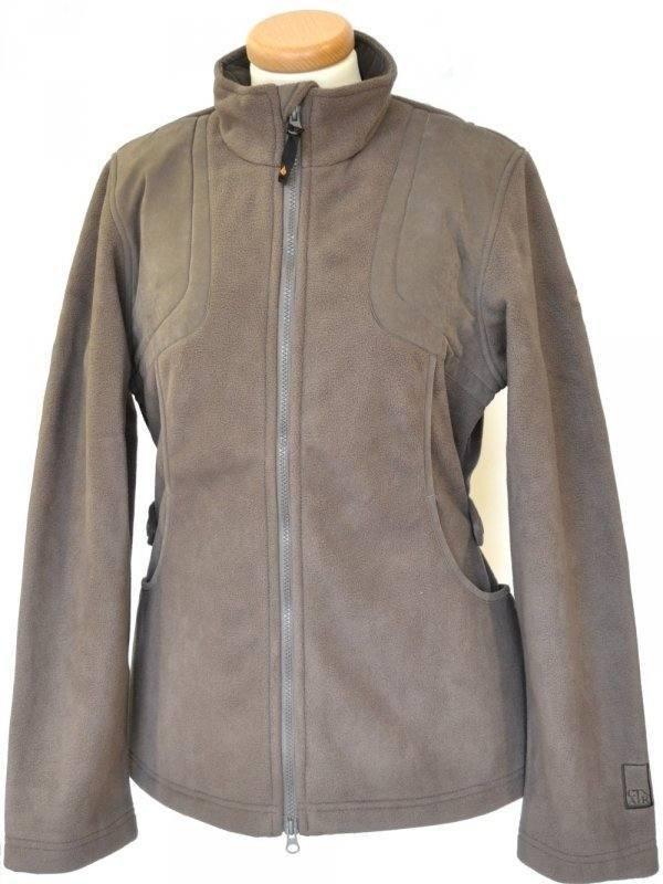 Laksen Ladies Breathable Shooting Fleece Jacket in 'Pigeon'