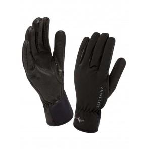 SealSkinz Women's Sea Leopard Black Gloves