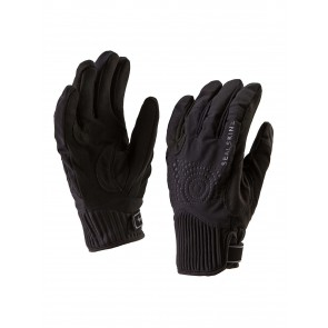 SealSkinz Women's Chester Black Gloves