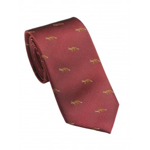 Laksen Fox Tie Vintage Red