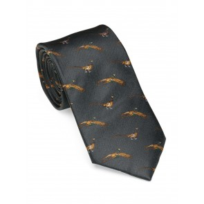Laksen Fly-By Pheasant Tie Ivy Green