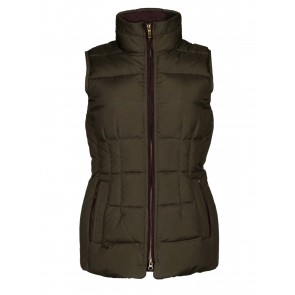 Dubarry Spiddal Women's Down-Filled Gilet Olive