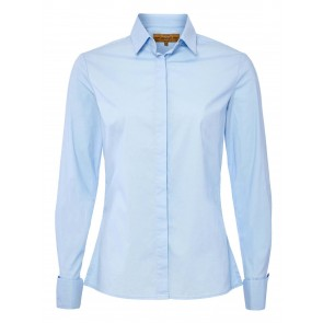Dubarry Daffodil Classic Tailored Shirt Pale Blue