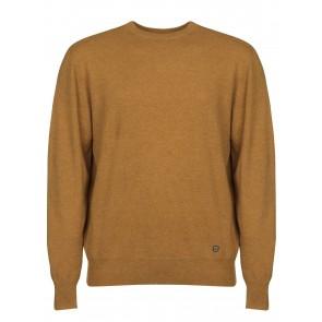 Dubarry Maguire Men's Classic Crew Neck Sweater Mustard