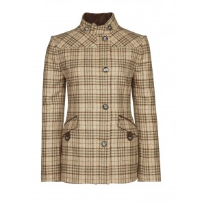 Dubarry Heatherbell Tweed utility Jacket Pebble
