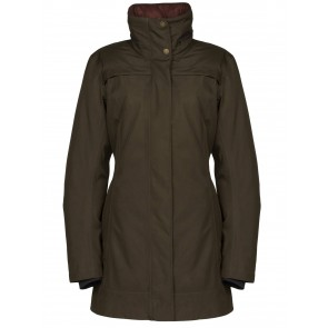 Dubarry Leopardstown Ladies Travel Coat Olive