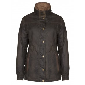 Dubarry Mountrath Ladies Waxed Cotton Jacket Olive