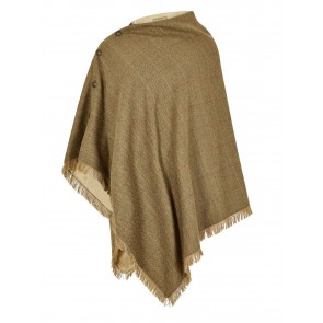 Dubarry Hazelwood Tweed Poncho Elm