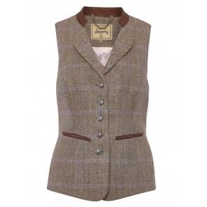 Dubarry Spindle Tweed Waistcoat Woodrose