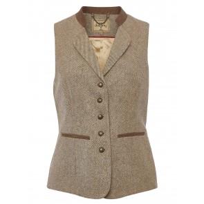 Dubarry Spindle Tweed Waistcoat Sable