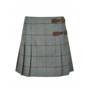 Dubarry Blossom Pleated Tweed Skirt Sorrel