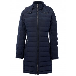 Dubarry Devlin Three-Quarter Length Thermoplume Filled Coat Navy