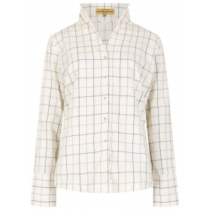 Dubarry Huckleberry Check Shirt Berry Multi