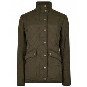 Dubarry Bettystown Quilted Jacket Olive