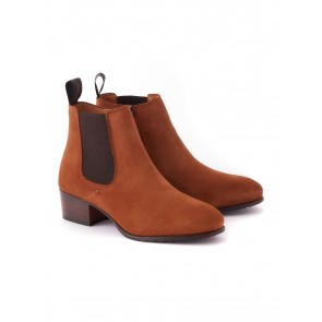Dubarry Bray Suede Boot Camel