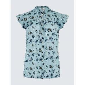 Dubarry Wilder Print Shirt Blue Multi