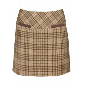 Dubarry Clover Tweed Mini Skirt Pebble