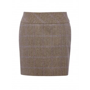 Dubarry Bellflower Short Tweed Skirt Woodrose