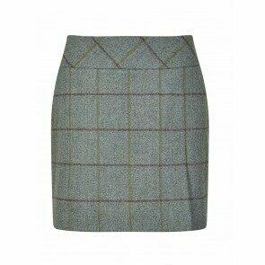 Dubarry Bellflower Short Tweed Skirt Sorrel