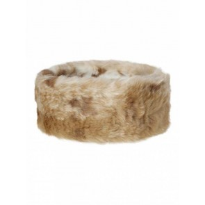 Dubarry Faux Fur Headband Chinchilla
