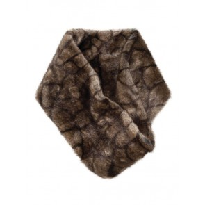 Dubarry Greystones Faux Fur Snood Elk