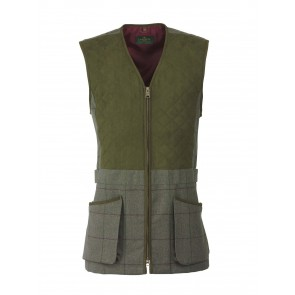 Laksen Grouse Collection Tweed Shooting Vest