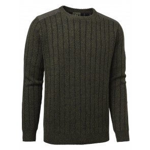 Chevalier Fjord Plated Wool Sweater Green