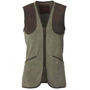 Laksen Cunningham Fleece Shooting Vest Green