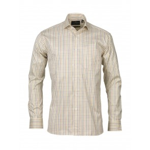 Laksen Lucien Cotton Tattersall Shirt