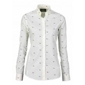 Laksen High & Wide Hen Pheasant Shirt Cream