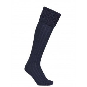 Laksen Windsor Shooting Socks Deep Sea Navy
