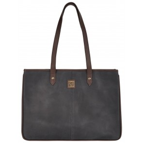 Dubarry Loughrea Large Tote Bag Black/Brown