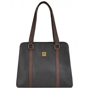 Dubarry Kinsale Shoulder Bag Black/Brown