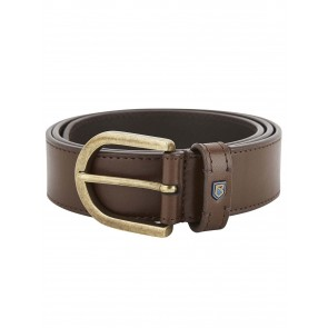 Dubarry Porthall Leather Belt Brown
