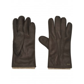 Dubarry Lisryan Men's Leather Gloves Mahogany