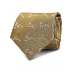 Dubarry Lacken Silk Tie Gold