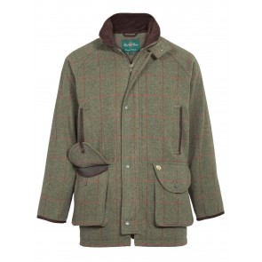 Alan Paine Combrook Men's Tweed Shooting Coat Sage